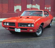 1960 GTO Judge. Would literally give all my money for it.