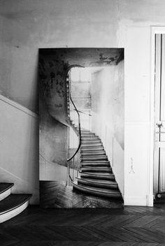 Sticker Escalier typiquement tournant di Maison Martin Margiela