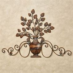 Tuscan Decorating, Decorating Ideas, Decor Ideas, Tuscan Living Rooms, Tuscan Style, Fall Table, Metal Wall Decor, Color Themes, Bronze Finish