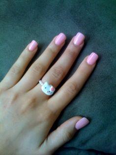 Cute Pink Nails ❤