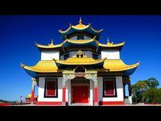Templo Budista - Khadro Ling - Três Coroas - RS - Rio Grande do Sul Turismo