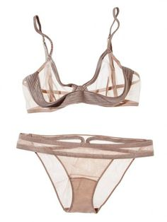 Rethink Your Nude Lingerie With These Not-So-Basic Styles  - La Perla from #InStyle
