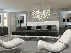 The modern mansion (master bedroom)