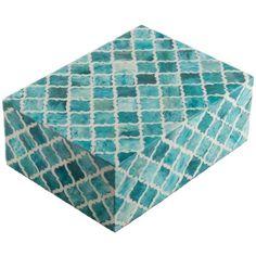 Moorish Box, Turquoise                                                                                                                                                                                 More