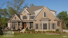 Garrell Associates, Inc.Ashley Manor House Plan 99015, Front Elevation, Normandy Style House Plans, Traditional Style House Plans, (4,162) Design by Michael W. Garrell