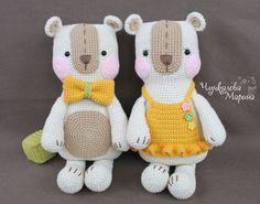 Crochet toy pattern The Bear for embrace PDF par MyCroWonders