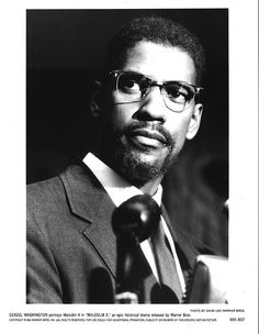 Denzel Washington as Malcolm X, his most iconic role to date...excellent job!