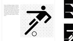 Pictogramas Olimpiadas Munich 1972 by Otl Aicher Icon Design, Web Design, Logo Design, Munich, Otl Aicher, Stefan Sagmeister, Milton Glaser, Saul Bass, Football Design