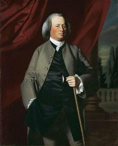 Portrait of James Warren by John Singleton Copley (1763)