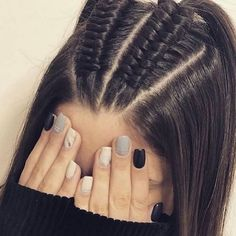 44 Ideas de Peinados Juveniles que te Encantarán Cute Hairstyles For Teens, Pretty Hairstyles, Infinity Braid, Box Braids Hairstyles, Updo Hairstyle, Braided Ponytail Hairstyles, Hair Ponytail, Teen Hairstyles, Long Hairstyles