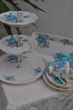 Love these vintage hand made cake stands  La Vie En Rose on Facebook