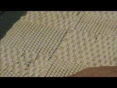 M's & O's pattern in white