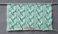 2019 Modell Knot Knecessarily Known Knitting: Symmetrisches Garn über Netzmuste& Knitting Stiches, Lace Knitting, Knitting Socks, Knit Crochet, Ladies Cardigan Knitting Patterns, Knit Patterns, Kurti Embroidery Design, Cross Stitch Kitchen, Crochet Videos