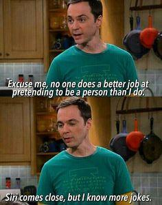 Sheldon knows more jokes??
