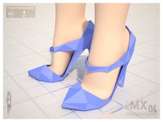 MX0004 Reload - High-heel 120mm by jihemx.deviantart.com on @deviantART