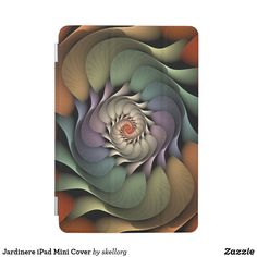 Shop Jardinere iPad Mini Cover created by skellorg. Iphone Wallet Case, Iphone Cases, Iphone 8, Ipad Air 2 Cases, Camera Case, Apple Ipad, Abstract Pattern, Ipad Mini, Spiral