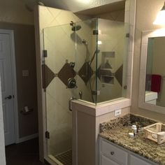 Glass Shower Enclosures, Glass Supplies, Custom Glass, Temple, Mirror, Home Decor, Decoration Home, Room Decor, Temples