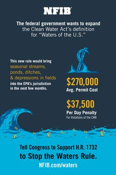 How will #WOTUS affect your #smallbiz?