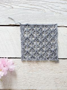 easy lace knit pattern                                                                                                                                                      More