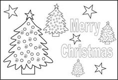 Christmas Placemat Templates Printable Free