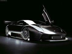 Carro moderno de lujo