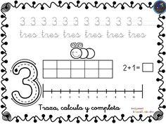 Fichas para trabajar los números del 1 al 30 Para descargar las imágenes pincha en la imagen que quieres descargar, se abrirá en una nueva ventana, pincha de nuevo en … Kindergarten Math Activities, Letter Activities, Preschool Spanish, Math Numbers, Kids And Parenting, Homeschool, Teacher, Classroom, Printables