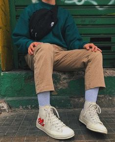 Indie Outfits, Retro Outfits, Vintage Outfits, Stylish Mens Outfits, Casual Outfits, Trendy Outfits For Guys, Guy Outfits, Mode Streetwear, Streetwear Fashion