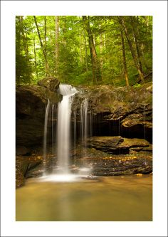 DeBord Falls at Frozen Head State Park, Tennessee