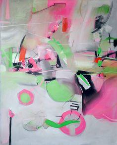 "Saatchi Art Artist: Mikołaj Obrycki; Acrylic 2014 Painting ""Maybridge"""