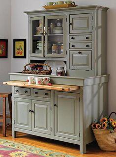 Kitchen remodels in Lincoln, Nebraska. Victorian Architecture Styles: Victorian Kitchen Dresser.