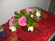 The last roses from our garden.