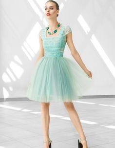 Sukienka tiulowa w malachitowej tonacji | monnom boutique | SHOWROOM