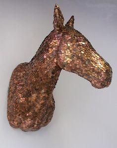 War Horse Penny Trophy by Rachel Denny | 25 Pretty Penny Projects To DIY