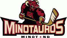 Minot Minotauros Hockey Logo | Minot Minotauros Primary Logo - North American Hockey League (NAHL ...