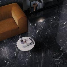 SUPREME EVO: large format porcelain stoneware collection marble effect Marble Tiles, Marble Floor, Tile Floor, Orange Sofa, Italian Tiles, Basement Flooring, Marble Effect, Style Tile, Evo