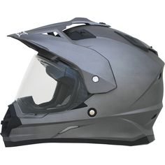 AFX FX-39 Dual Sport Helmets Solid With the AFX FX 39 helmet, motorcycle riding doesn't have to be exclusive to either riding on the street or churning out a few hours doing off-road riding. For the r