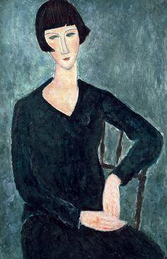 RES PICTA - Εικαστικά θέματα για μουσικές ακροάσεις: Amedeo Clemente Modigliani (1884-1920)
