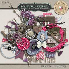 Time Flies | Elements :: Elements :: Memory Scraps