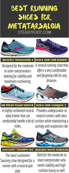 76f0e7d4b43 Best running shoes for Metatarsalgia Best running shoes for ball of foot  pain. These are