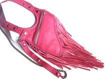 """Revolverbag Holster Tasche Leder pink """"Estelle"""""""