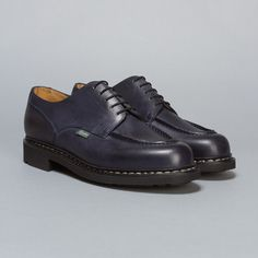 Paraboot Chambord in Navy Leather