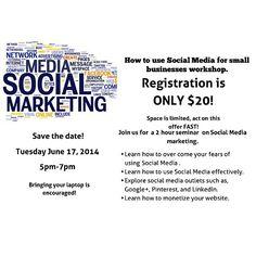 Check out Social ButhaFli.net Presents Making Social Media Work For Business Workshop on Eventbrite!  https://www.eventbrite.com/e/social-buthaflinet-presents-making-social-media-work-for-business-workshop-tickets-11669201897?aff=eandprexshre&ref=eandprexshre