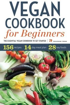 #book Vegan Cookbook for Beginners The Essential Vegan Cookbook To Get Started