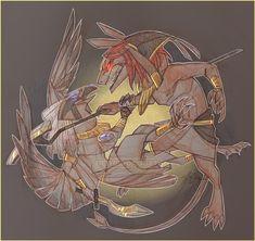 Set and Horus By Tenicola Fantasy World Map, Fantasy Art, Ancient Egypt, Ancient History, Egyptian Mythology, Cryptozoology, Anubis, Greek Gods, Gods And Goddesses