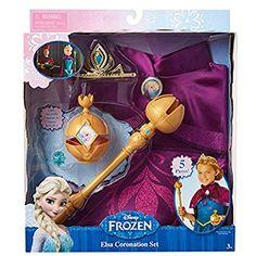 Frozen 81195 Elsa Coronation Set Costume Fits Szs for sale online Disney Frozen Bedroom, Disney Frozen Elsa, Little Girl Toys, Toys For Girls, Diy Doll Closet, Disney Descendants Dolls, Elsa Coronation, Minnie Mouse Toys, Baby Bouncer