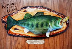 Cake Bass by Kandy Cakes | Flickr - Photo Sharing!