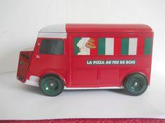 citroen hy pizza au feu de bois pizzeria boite metal camion type h pa 1/43 1/18 • EUR 6,99 - PicClick FR
