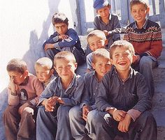 Pashtun Boys from Afghanistan.