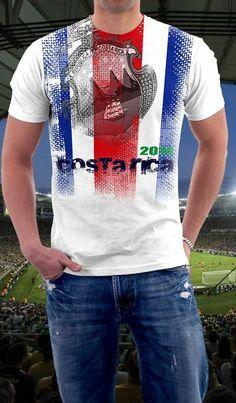 Costa Rica soccer shirt