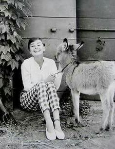 her smile that is simple Audrey